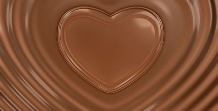 Chocolate Valentine Heart