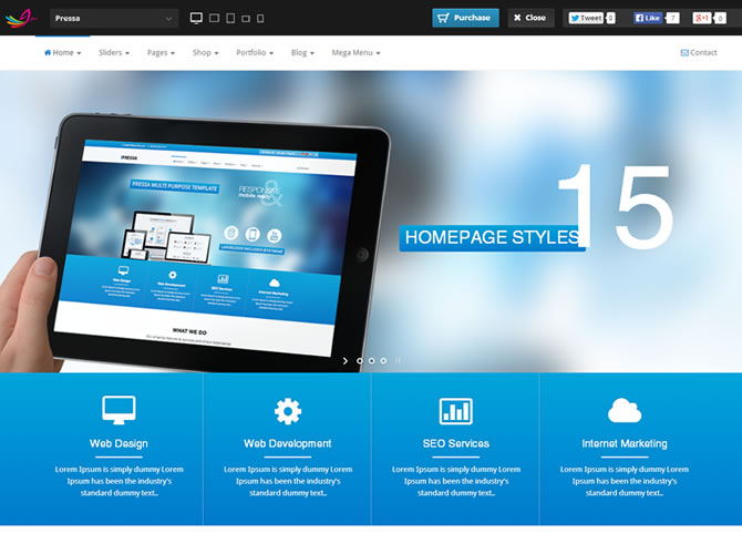 Best HTML5 Bootstrap Website Templates | Entheos