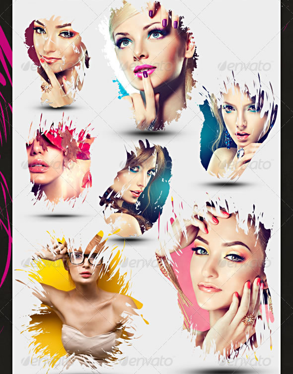 Abstract Photo Templates Pack-2