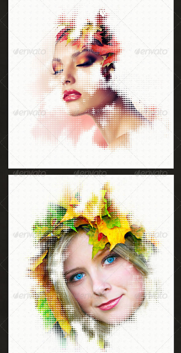 Abstract Photo Templates Pack