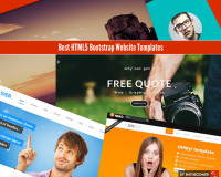 Best HTML5 Bootstrap Website Templates