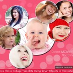 Free Photo Collage Template Using Smart Objects in Photoshop