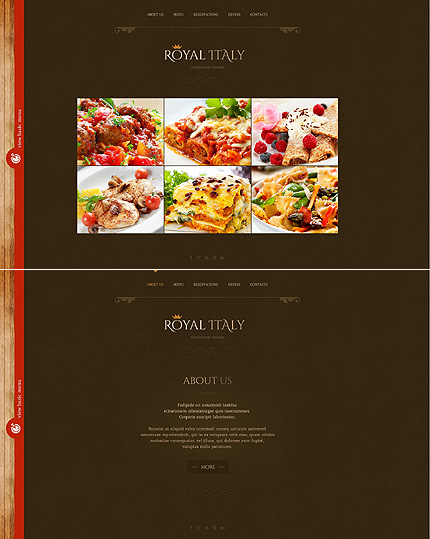 Template 46719 - Wedding Planner Website Template with Bootstrap, Illustrations, Menu and Banner Animations