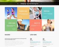 Running Club Responsive Website Template