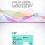 Muted Pastels – A Popular Web Design Trend