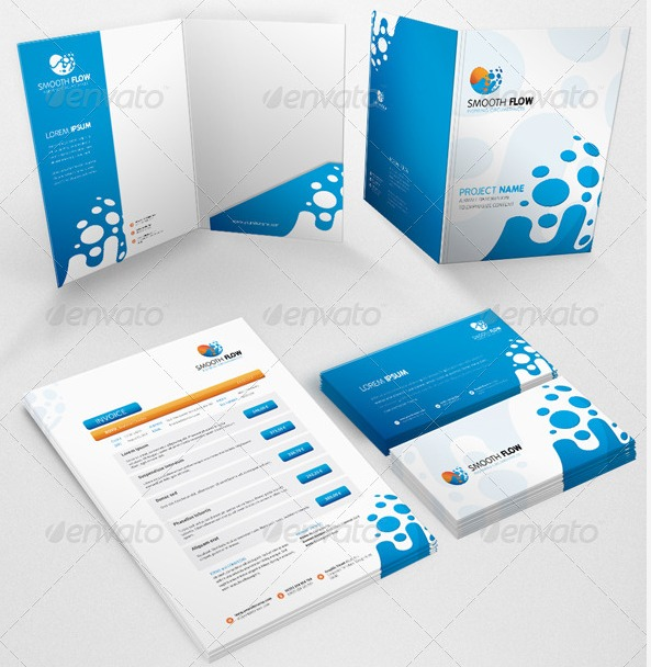 outstanding corporate identity print and web templates | entheos, Presentation templates