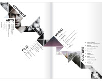 Creative Brochure Design – Geometric Shapes And More