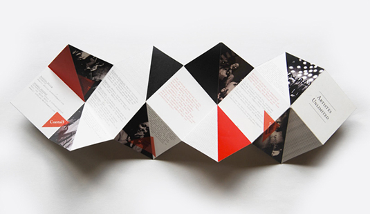 foldable brochure