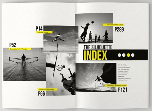 Creative Brochure Design Geometric Shapes And More – Sports Brochure
