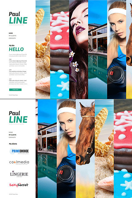 Template 49347 - Photo Gallery Moto CMS HTML Template