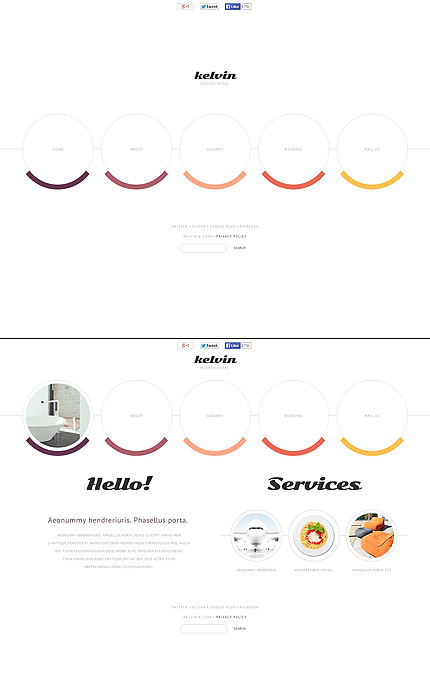 Template 49538 – Modern Hotel Flash CMS Template
