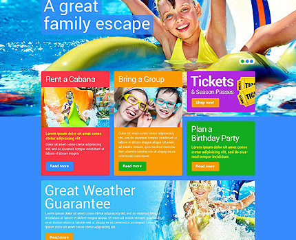 Index of wp contentuploads201501 template 48319 water park responsive website template with carousel gallery and slider 430x350g maxwellsz