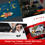 Design Your Footers - Create Web Value