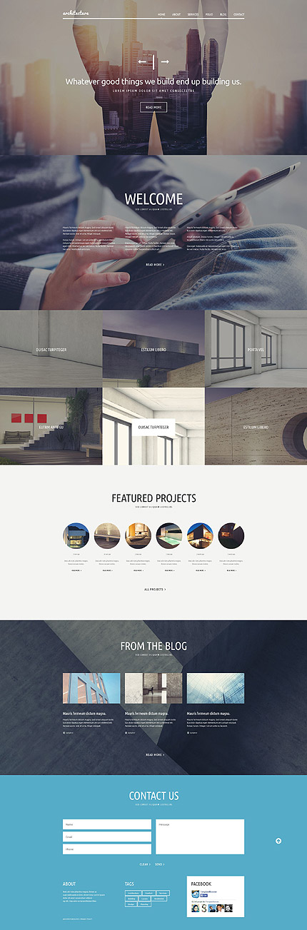 Best Web Templates March 2015 | Entheos
