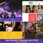 Best Website Templates April 2015