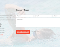 Template 53856 - Triathlon Club Responsive Website Template