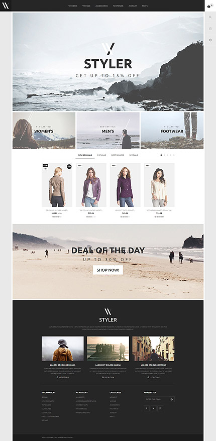Template 53967 - Clothes Responsive PrestaShop Theme