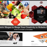 Geometric Shapes to Shape Your Creativity in Website Design