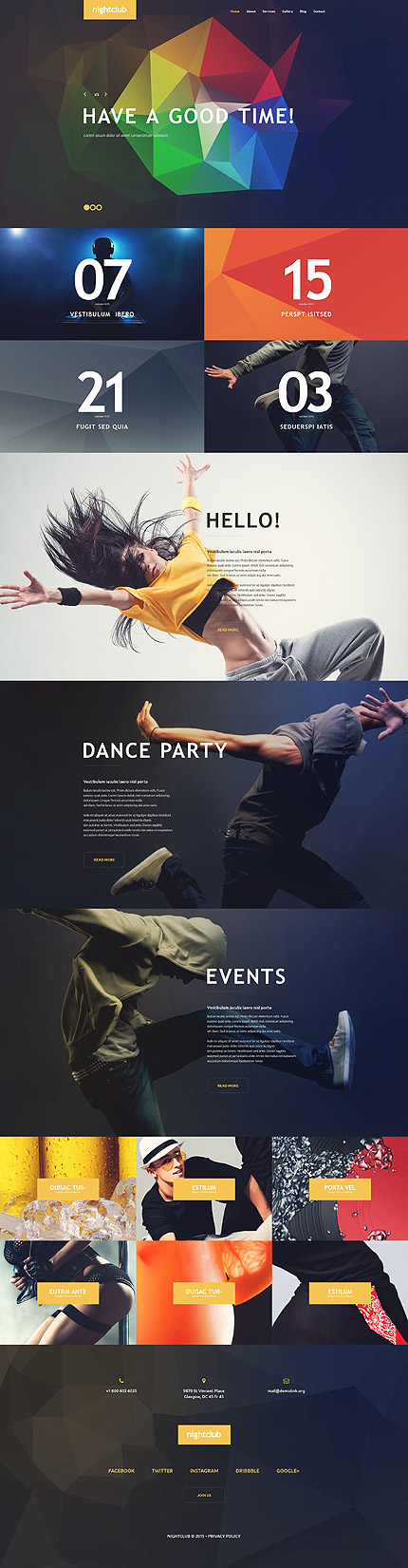 Geometric Shapes to Shape Your Creativity in Website Design | Entheos