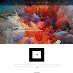 Template 56092 - Fine Art Responsive WordPress Theme