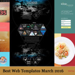 Best Web Templates March 2016