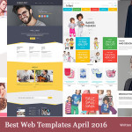 Best Web Templates april 2016