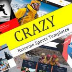 Crazy Extreme Sports Templates