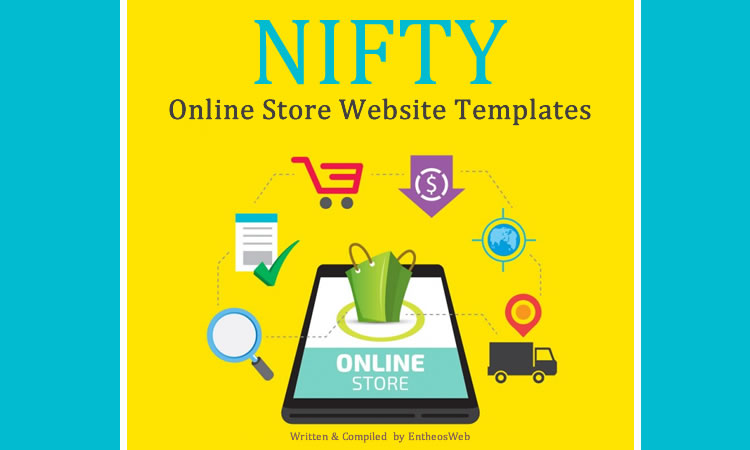 Nifty Online Store Website Templates Entheos