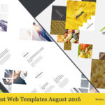 Best Web Templates August 2016
