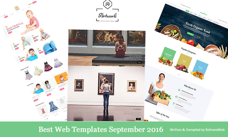 Best Website Templates September 2016