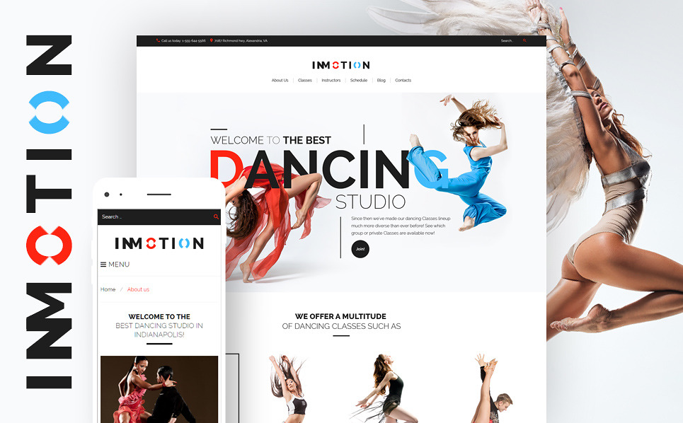 Template 59018 - Immotion School Responsive WordPress Theme