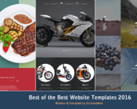 Best of the Best Website Templates 2016
