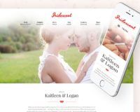 Iridescent - Marriage & Wedding WordPress Theme