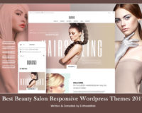 Best Beauty Salon Responsive Wordpress Themes 2017
