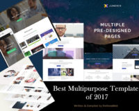 Best Multipurpose Templates of 2017