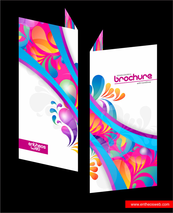 Designing a Colorful Brochure with CorelDraw