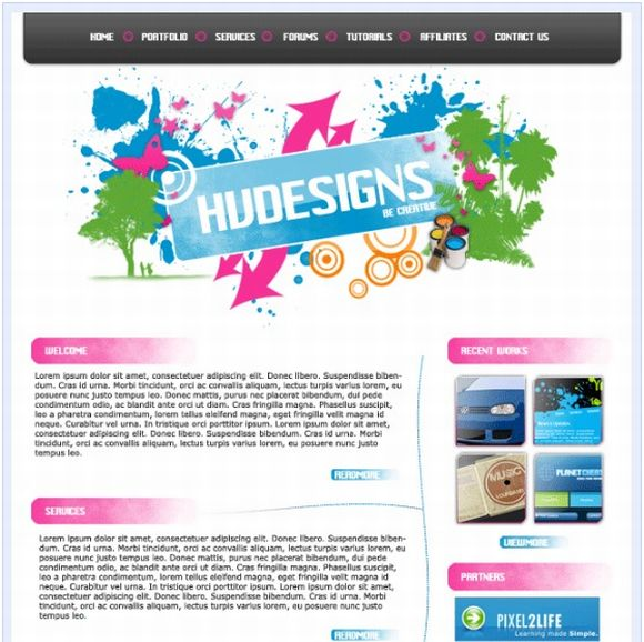 Design a Funky website Design