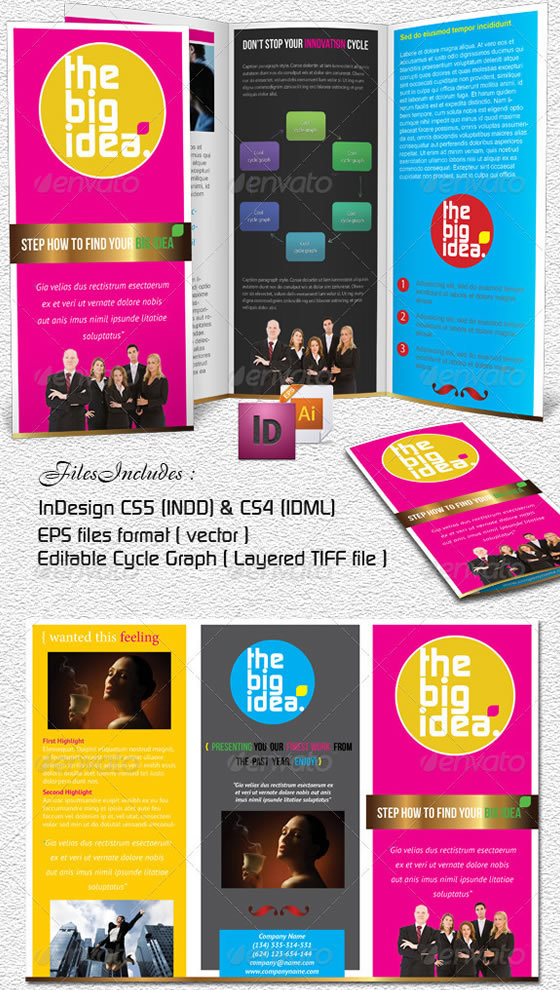 Big Idea Business Trifold
