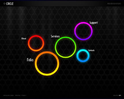 Colored Circles Theme