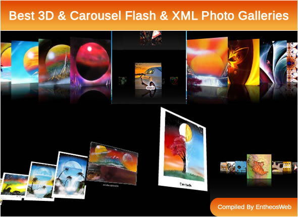Best 3D & Carousel Flash & XML Photo Galleries