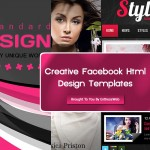 Creative Facebook Html Design Templates