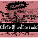 Inspiring Collection of Hand Drawn Website Designs