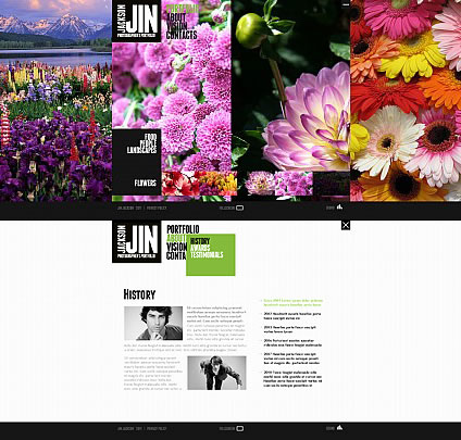 Jin Photo Flash Photo Gallery Template