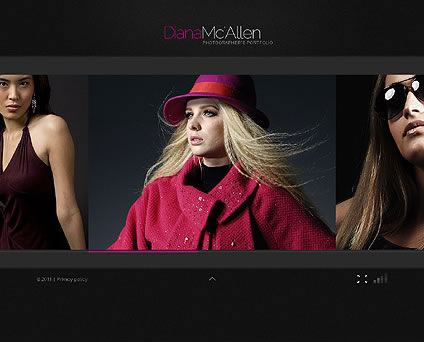 Diana Mc Flash Website Template