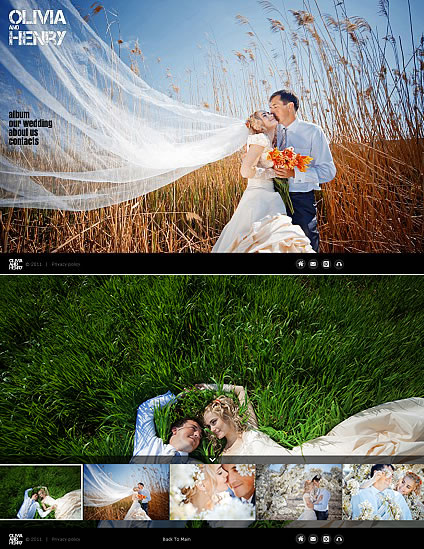 Olivia And Flash Photo Gallery Template