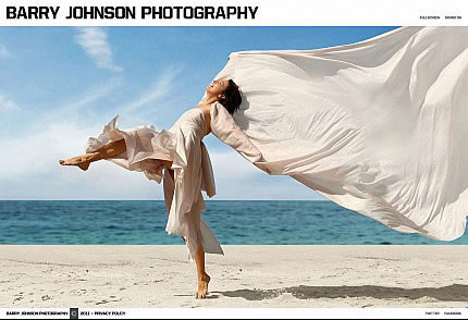 Barry Johnson Flash Photo Gallery Template