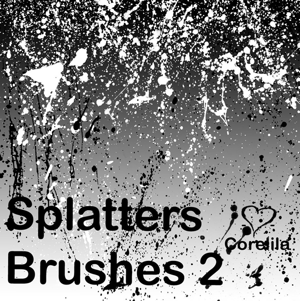 New Splatters Brushes