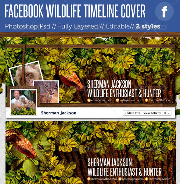Facebook Timeline Covers - Wildlife