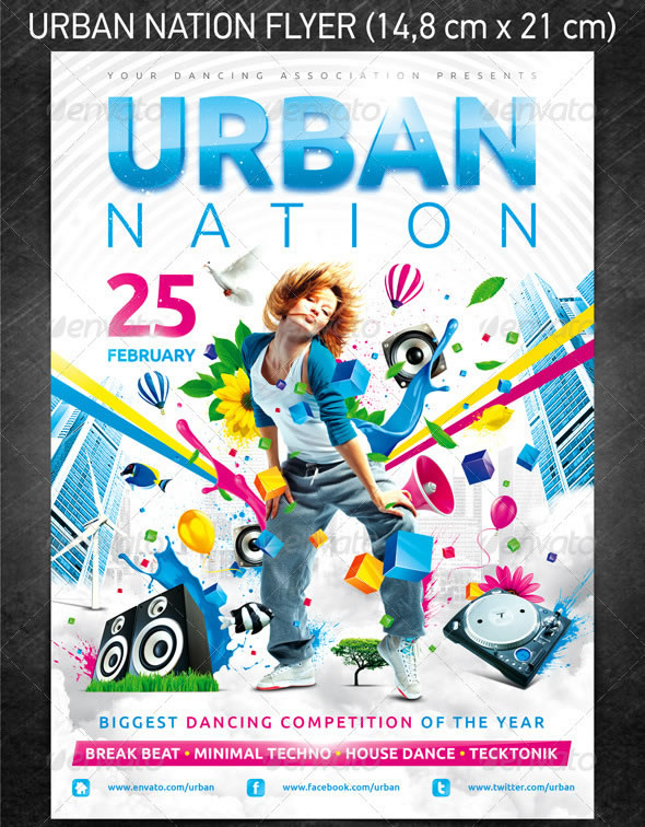 Urban Nation Flyer