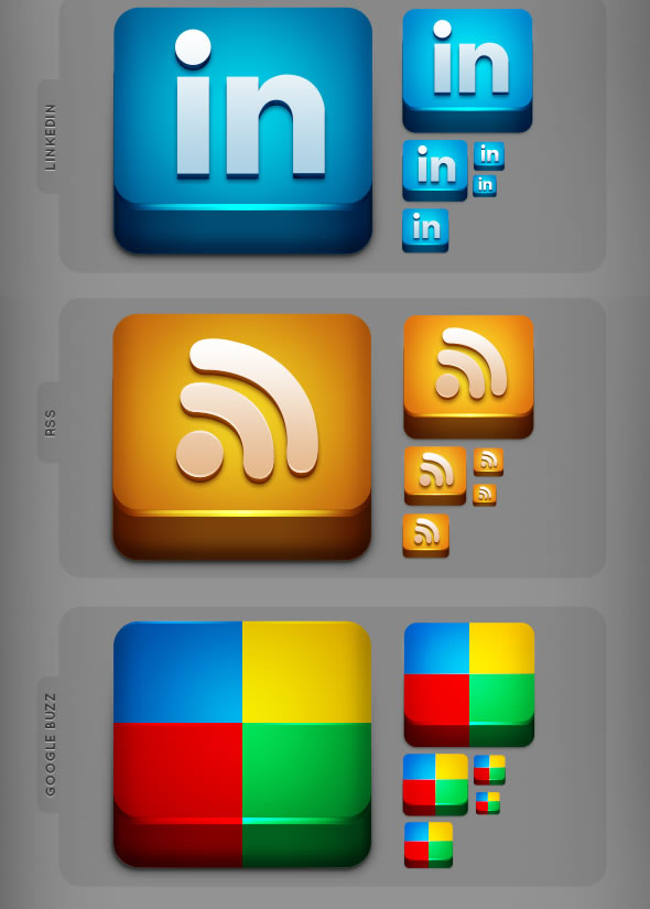 300 Lifetime Social Network Icons